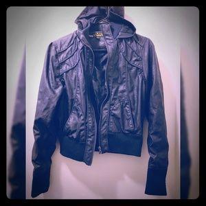 Jackets & Blazers - Faux leather jacket